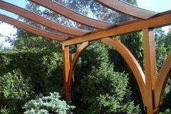 Zadaszenie z drewna klejonego Rzeszów