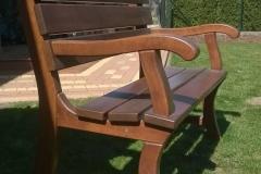 Ławka drewniana lakierowana Rzeszów