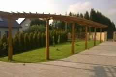 Pergola Drewniana na Wymiar Rzeszów