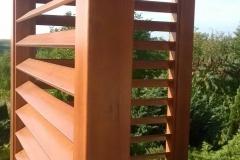 Zaluzje drewniane